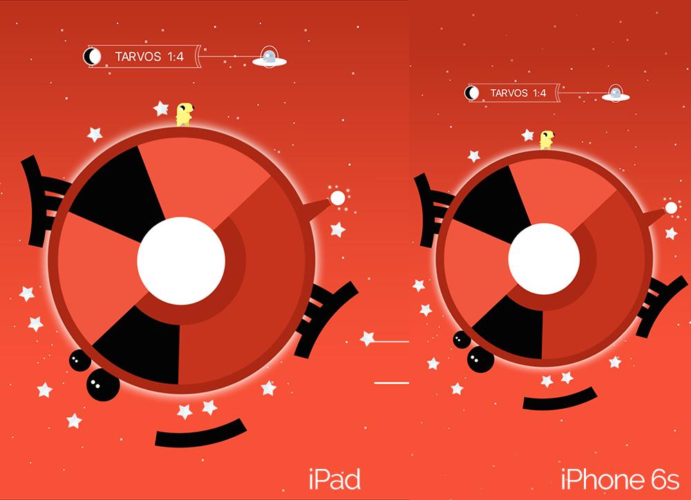 99 Moons iPad and iPhone 6s Screenshots