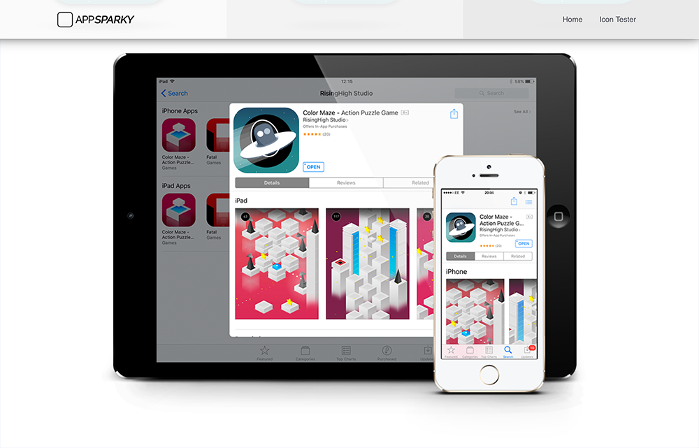 AppSparky.com - App Store Product Page