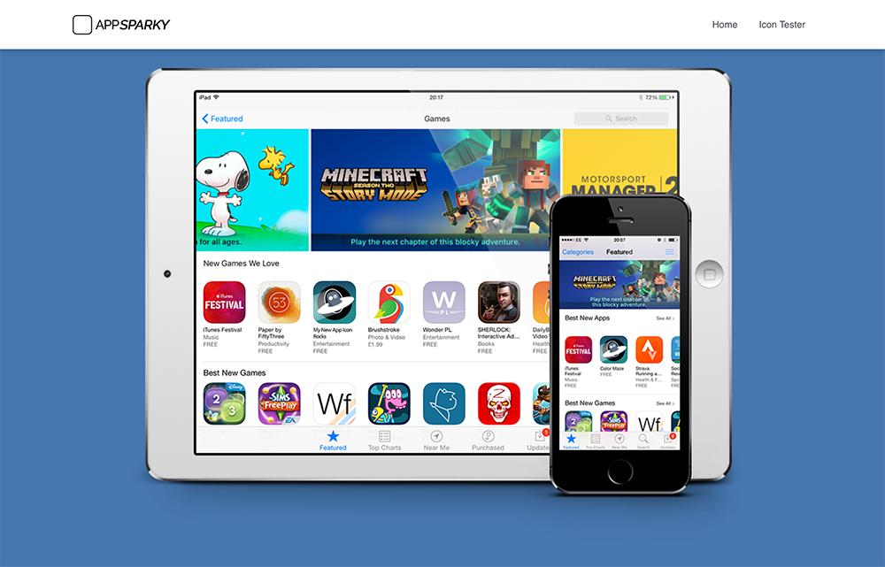 AppSparky.com - App Store Homepage