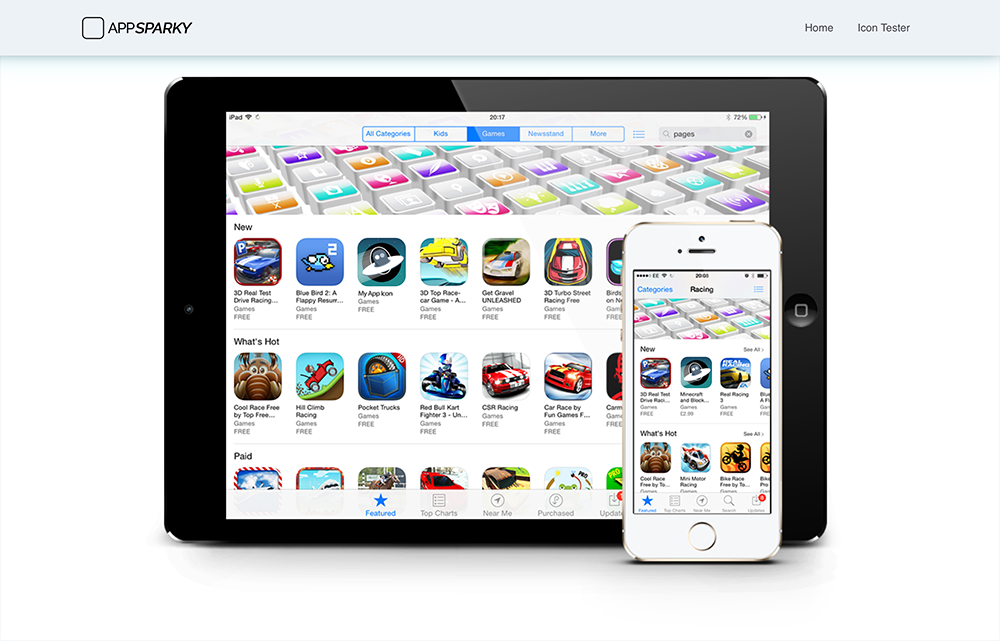 AppSparky.com - Category View