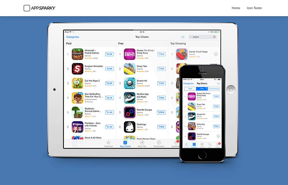 AppSparky.com - App Store Top Charts