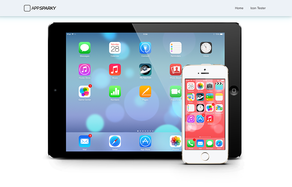 AppSparky.com - iPhone & iPad Homescreens