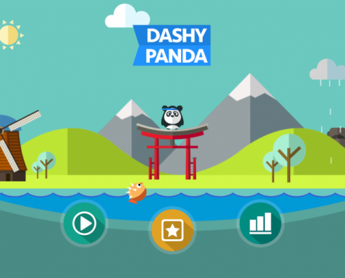 Dashy Panda Screenshot 1