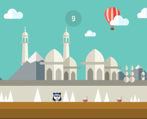 Dashy Panda Screenshot 2
