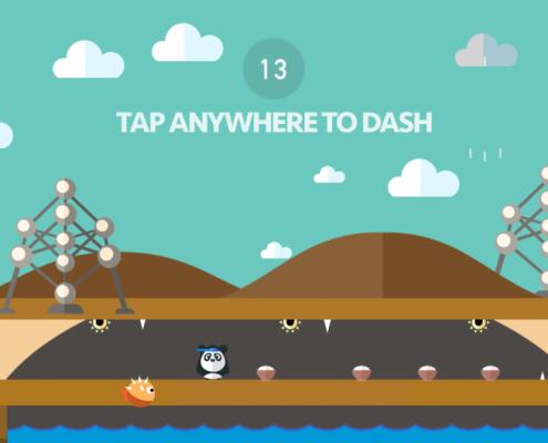 Dashy Panda Screenshot 3