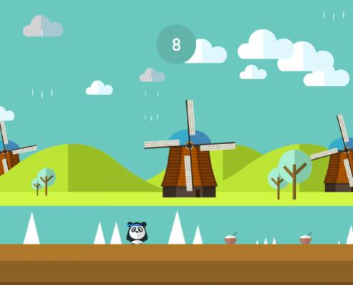 Dashy Panda Screenshot 5