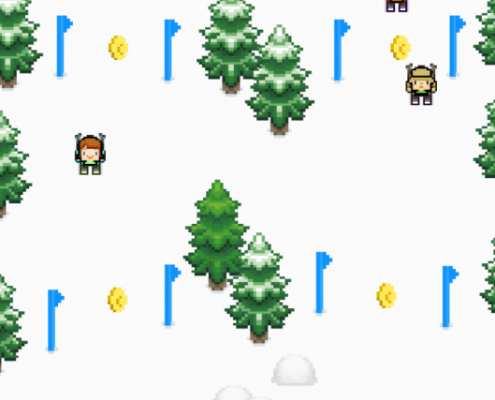 Slippy Slopes Screenshot 2