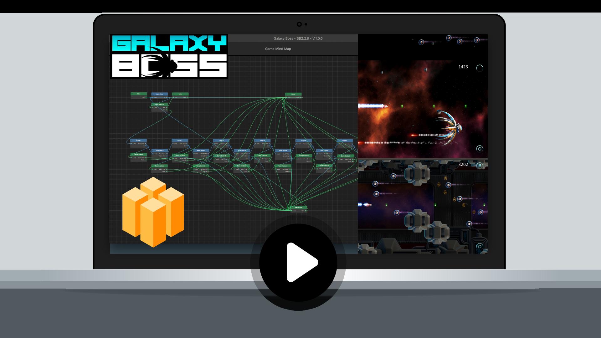 Galaxy Boss Demo - Buildbox Training Project