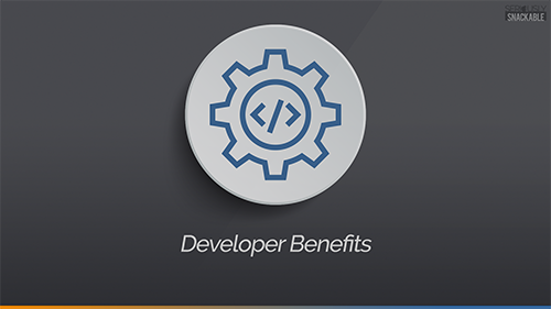 Game Developer Benefits Splash