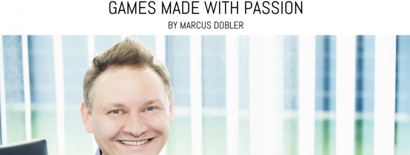 Marcus Dobler - Apple Featured Indie Game Developer