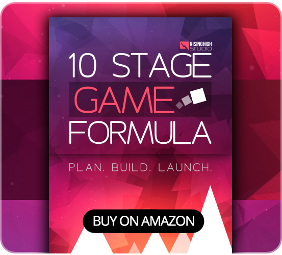 10 Stage Game Formula for Game Developers on Amazon