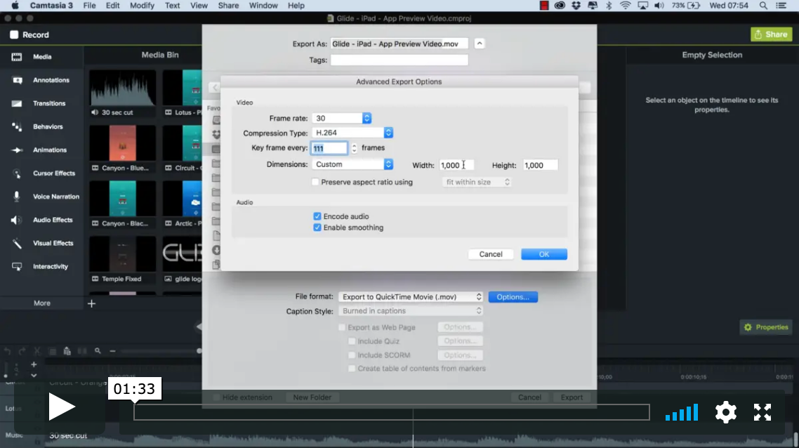 Exporting Your Game Trailer Videos