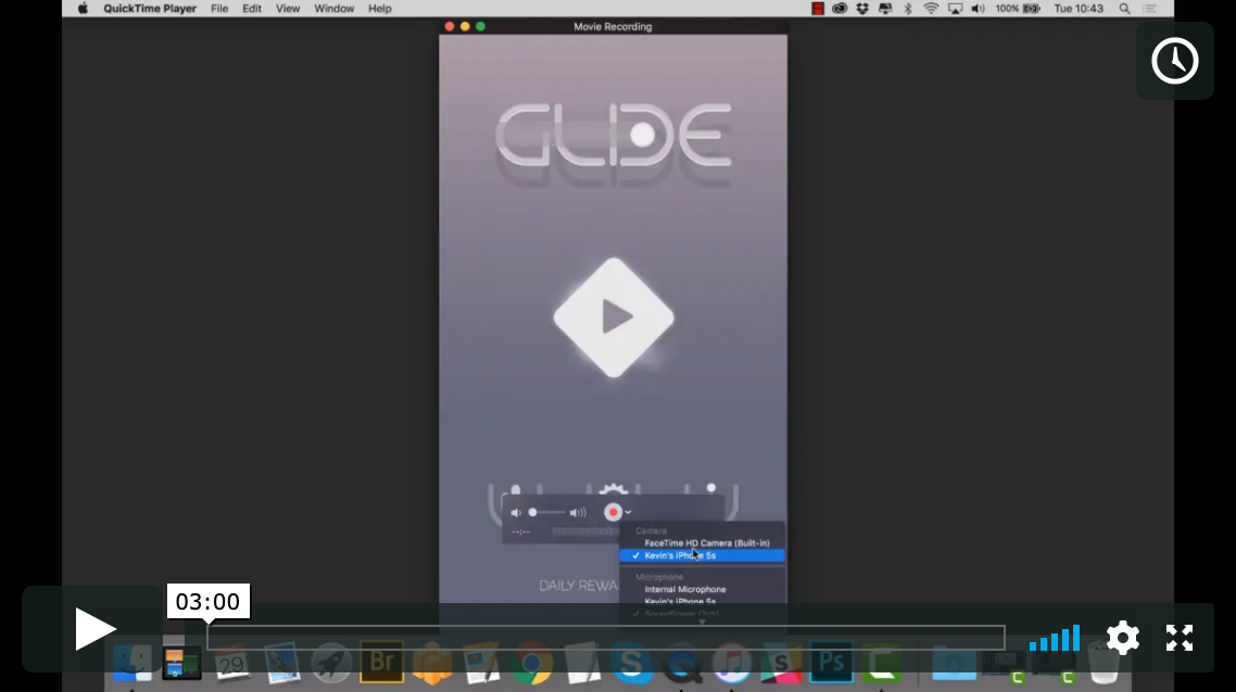 Recording Game Footage with Quicktime