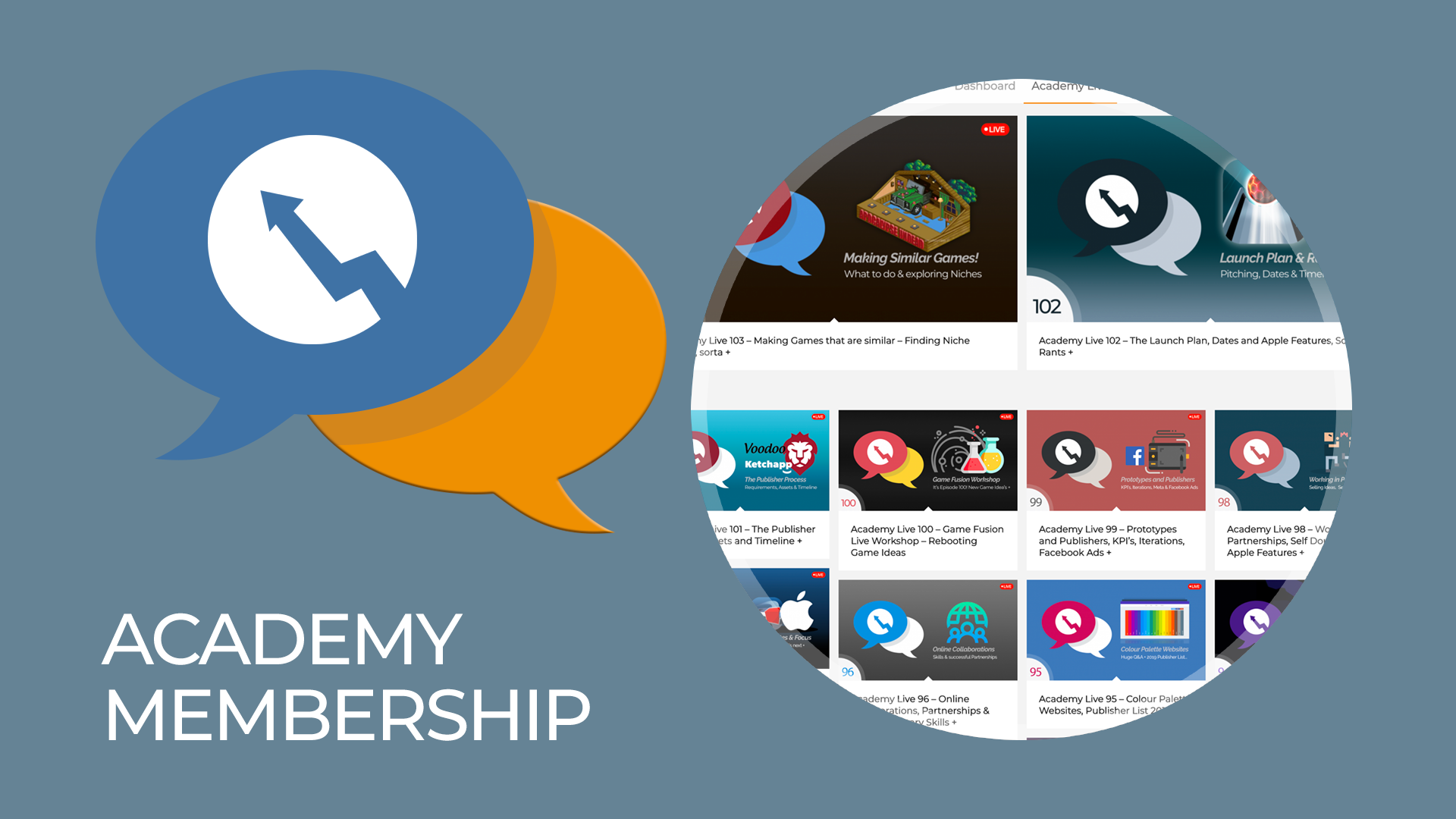 Academy Membership for Game Developers