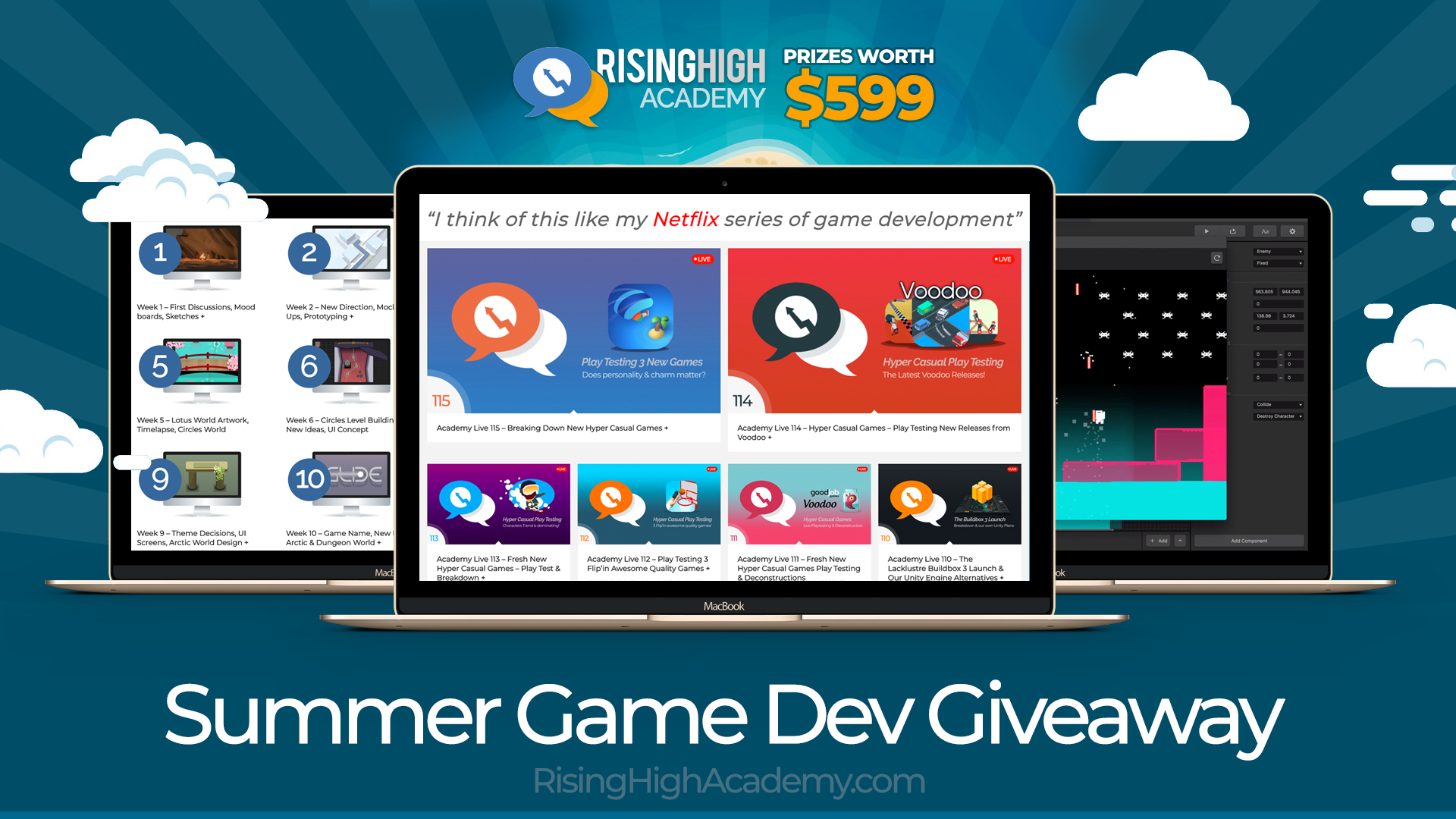 Summer Game Dev Giveaway