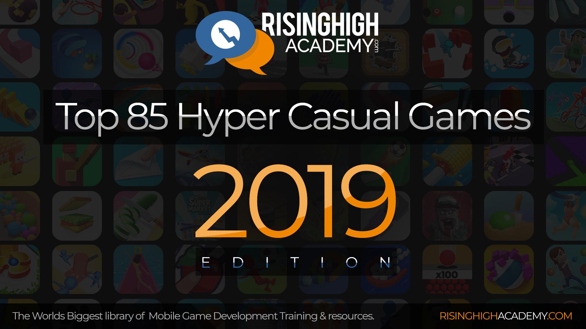 Top 85 Hyper Casual Games