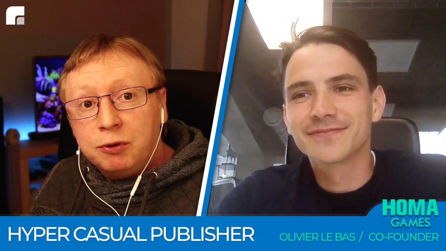 Homa Games - Hyper Casual Publisher - Olivier Le Bas
