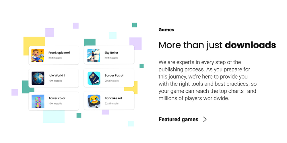 Hyper Casual Publisher - Homa Games - More than Just Downloads