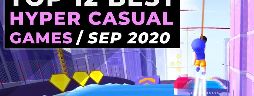 Top Hyper Casual Games September 2020