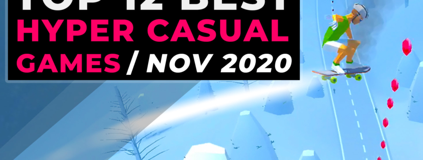 Top 12 Best Hyper Casual Games November - Top Hyper-Casual Games 2020