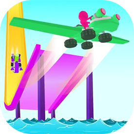 Glide Race 3D - Good Job Games