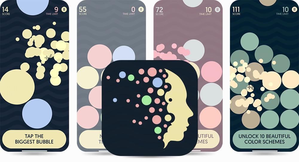 Dream Bubblez Game - iOS Apple Featured