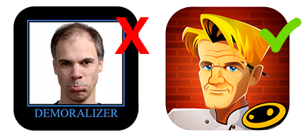 Character Icon used for Gordon Ramsey Game