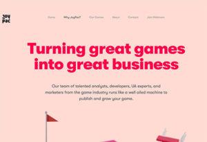 Hyper Casual Publisher - Joypac