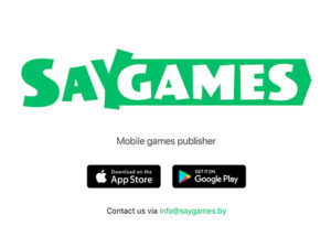 Hyper Casual Publisher - SayGames