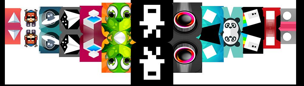 RIsingHigh Studio Games Icons