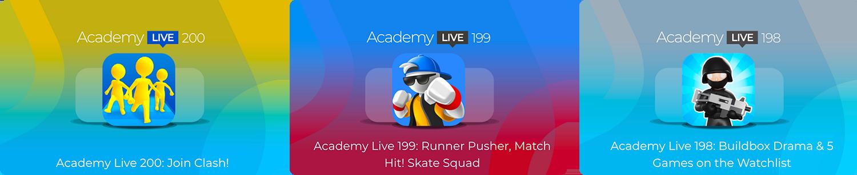 Academy Live - Hyper Casual Game Design Show - 1