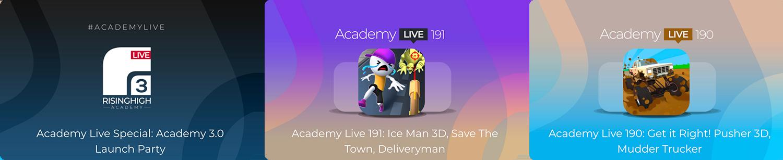 Academy Live - Hyper Casual Game Design Show - 4
