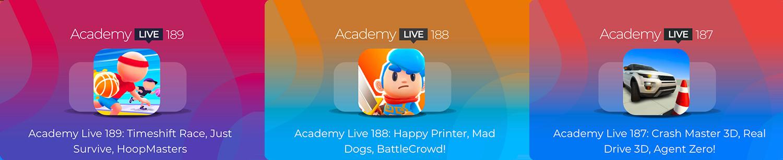 Academy Live - Hyper Casual Game Design Show - 5