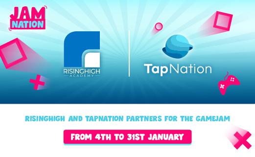 RisingHigh Academy Sponsors TapNation Gamejam