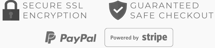 Secure Checkout by Stripe and Paypal