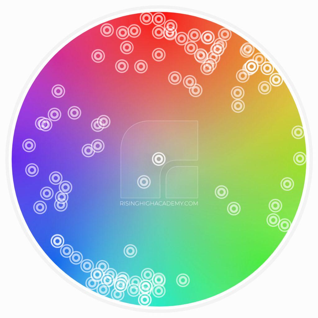 Hyper Casual Games Colour Palette - Icons