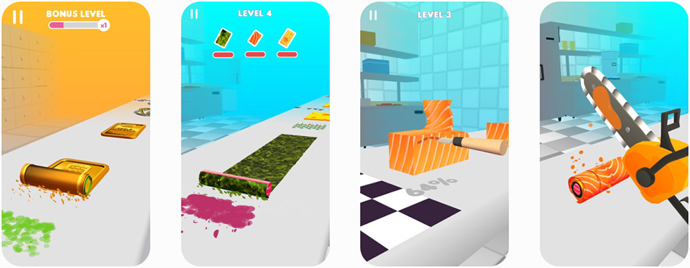 Sushi Roll 3D - SayGames LTD